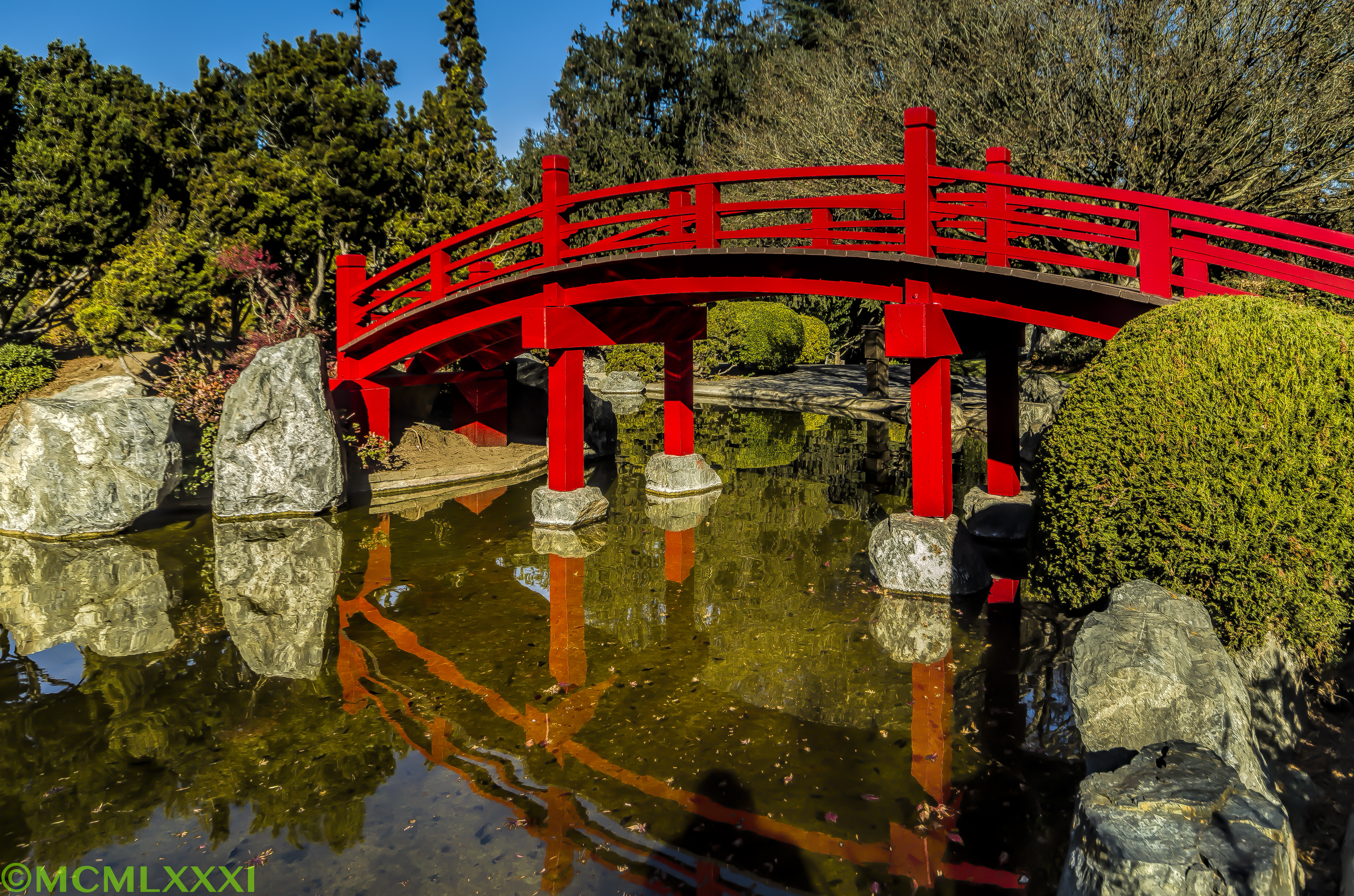 The Footpath Bridge at the Japanese Friendship Garden – Photography ...